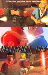 Valentines day Movie Poster by Biosier