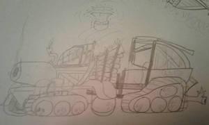 RNF P.O.T Tank: Shambled Cocoton. by MegaboatmaN