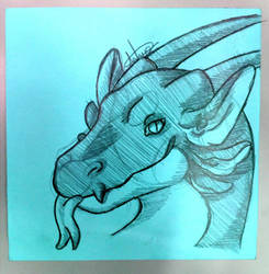 Gift sketch by Art-eip