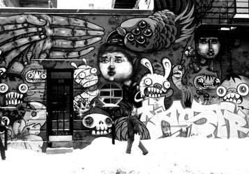 Street Art - Montreal (QC) by DebMTL