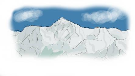 Mount Everest by LisekLucek