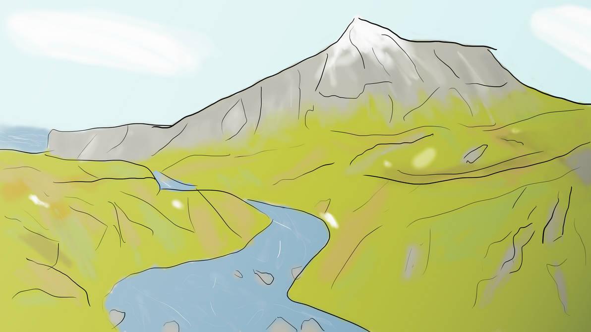 Zamarznieta Rzeka / Frozen River by LisekLucek