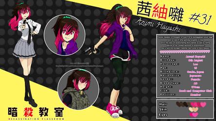 [AC/AK- Ref. Sheet] Azumi Hayashi by HeyItsTayekiren