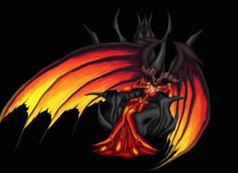 Warlock WoW (World of Warcraft) by Cinderys