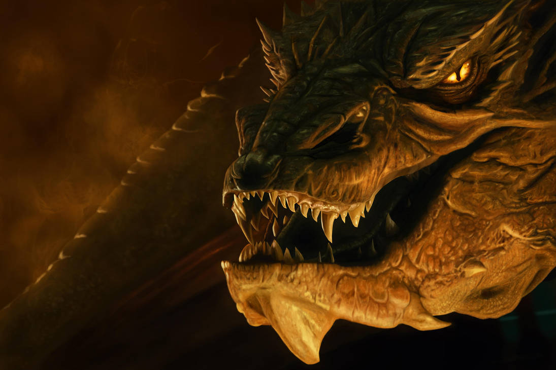 Smaug by Cinderys