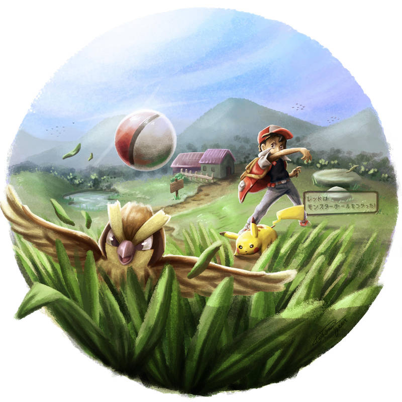 Adventure 05: Catching them all in Kanto by Gkenzo