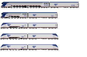 Amtrak Steam Locomotives by o484