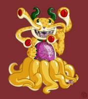 Mutant Kitty by KitschyDuck
