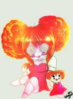Doll and me by Esmy-cinnamonroll