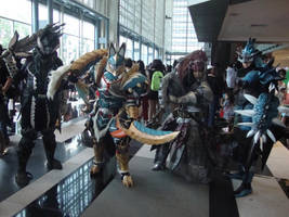 AFA Singapore 2013: Monster Hunters Unite by DragonicHeaven