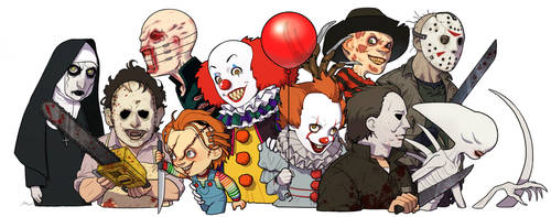 My favorite horror movie characters by NRjin