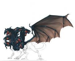 dragon sombra by Rick-Lee