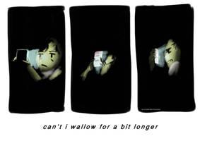 holding on for far too long by pixelatedmilkshake