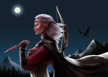 The Elder Scrolls V: Skyrim - Puga by Wernope