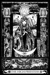 Major Arcana 2 : The High Priestess by Asfahani