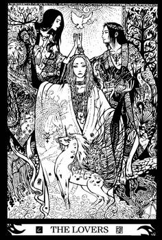 Major Arcana 6 : The Lovers by Asfahani