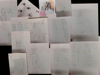 First actual sketch dump eva! by Chikstar