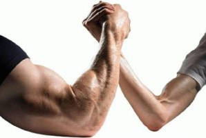 Male muscle vs Female muscle by gandalfi2011