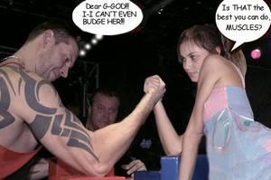 Male muscle vs Female Muscle 2 by gandalfi2011