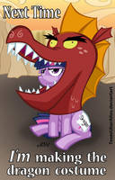 Next Time, I'm Making The Dragon Costume by TexasUberAlles