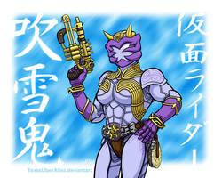 Kamen Rider Fubuki by TexasUberAlles