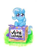 Vote Lulamoon by TexasUberAlles
