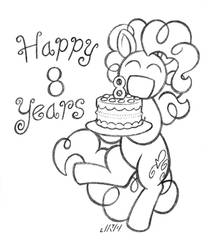 Happy 8 Years by TexasUberAlles