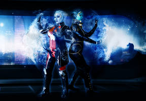 Asari Flux by LittleMissMetamorph