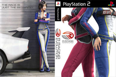 R: Racing Evolution - PS2 Custom Cover by shonasof