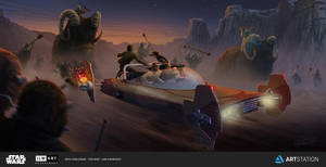 Land Speeder by JonHrubesch