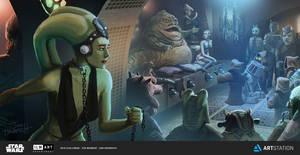 Escape from Jabba's Palace by JonHrubesch