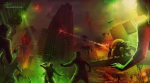 Alien Invasion by JonHrubesch