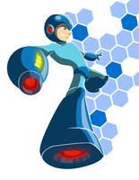 Megaman Proyecto 01 by AbrahamGart