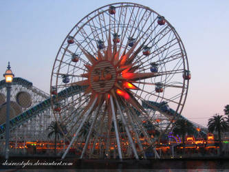Disneyland Distance Wheel by desirexstylez