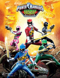 Power Rangers DINO CHARGE Poster by XMarcoXfansubs