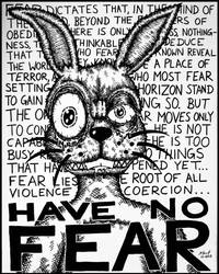 (No) FEAR [The Rabbit] by constantly-confused