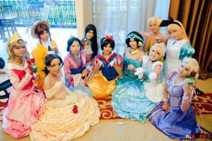 The Charming World of Disney Princess by rinsuzume