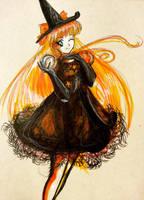 Happy Halloween: Sailor Venus by Moonlight-Seraph