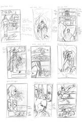Layouts for comic by urbantrixsta
