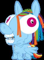 Rainbow's Rainbow Suit by masemj