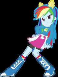 Rainbow Dash - Come At Me Bro by masemj