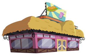 The Hayburger by masemj