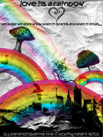 Love is a rainbow by paraNoidK