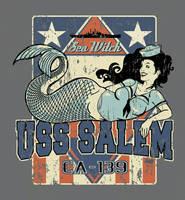 USS Salem mermaid  by rawddesign