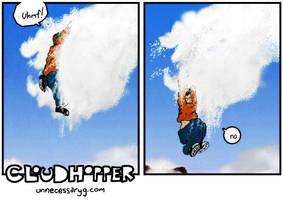Cloudhopper art show F by geoffsebesta