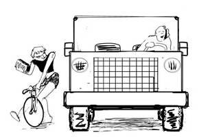 Bike v. Hummer by geoffsebesta