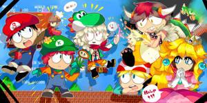 Super Mario by Momo-chee