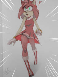 Amy Rose by CrazySonyaTheChaos
