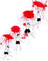 UMBRELLAZ LADYS by lora-zombie