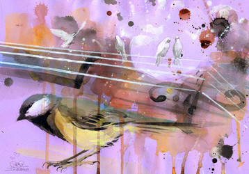 DOUBLE BASS by lora-zombie
